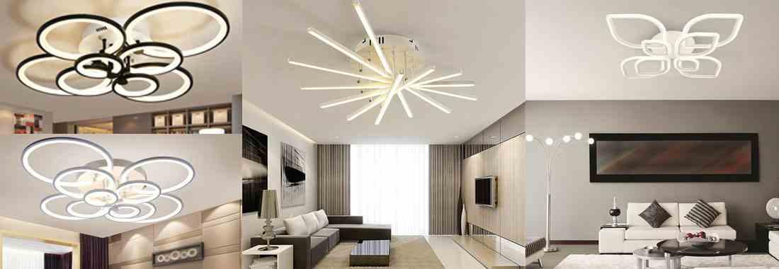 Новинки LED люстры
