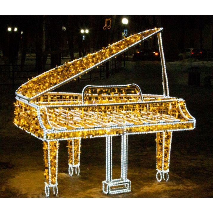 Светодиодный рояль фотозона