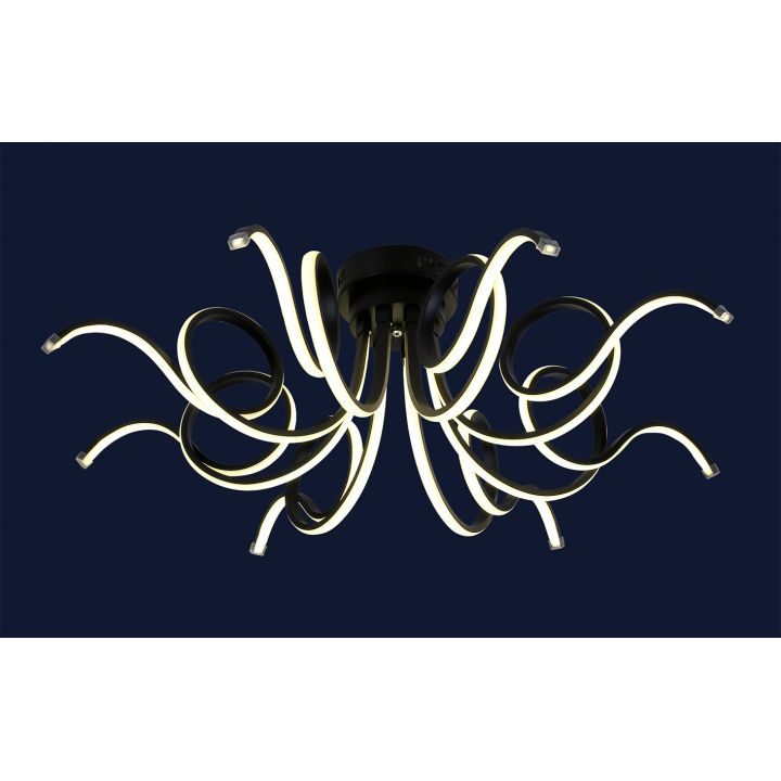LED люстра dlc-801l7002+8 bk